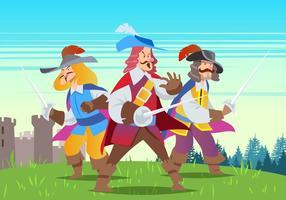 Drei Musketiere