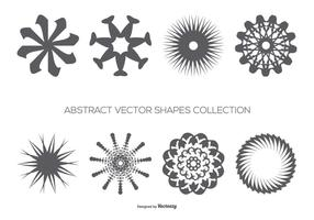 Collection abstraite de formes vectorielles