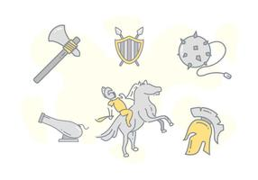 Vectores libres libres de la caballería