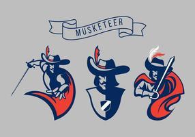 Pack de Logotipo Vector Mosquetero