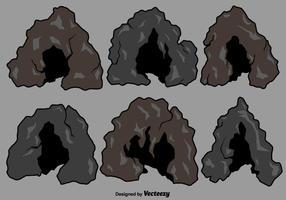 Conjunto de entrada de caverna de vetores