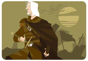 White-hair-musketeer-vector