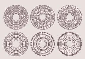 Vector Decorative Circles