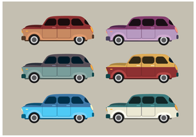 Station Wagon Vector gratuito