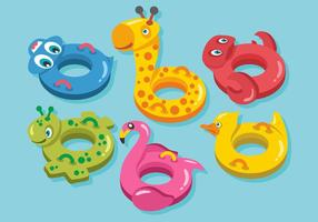 Animals Innertube Vector Pack