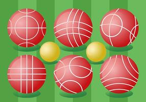 Bocce Ball Vektor Pack