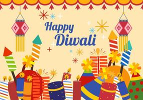 Diwali Indian Celebration Vector
