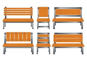 Lawn Chair Vectors Set