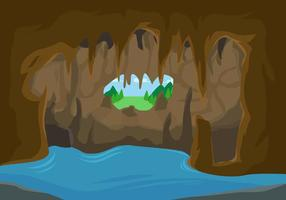 Vectores libres de la caverna excepcional