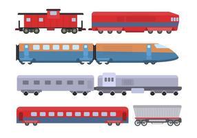 Plana tågvektorer