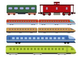 Flache Zugvektoren