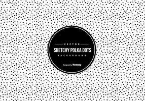 Sketchy Polka Dot Hintergrund