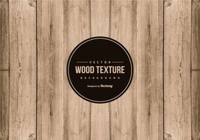 Fond de texture de vecteur de bois