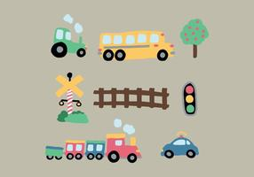 Dessins de transport