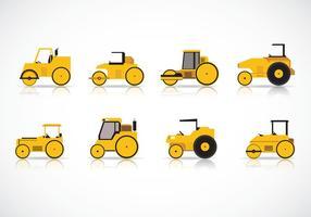 Road Roller Vectors