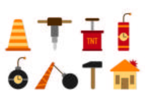Set Demolition Icons