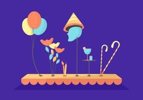 Free Hillarious Party Vectors