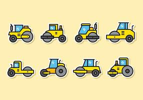 Nette Road Roller Icons