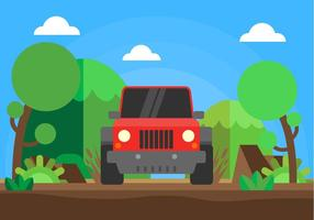 Offroad Illustration