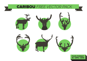 Caribou Free Vector Pack