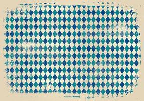 Grunge Style Argyle Background vector