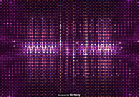 Vector Background Of Purple Led Lights