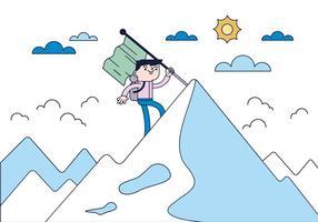 Free Climber Vector