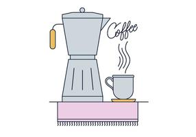 Vetor de café grátis