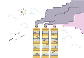 Gratis Smoke Stack Vector