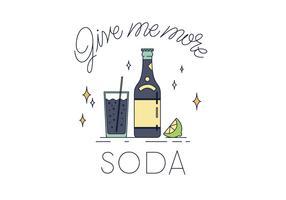 Vector libre de la soda