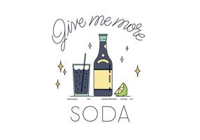 Gratis Soda Vector