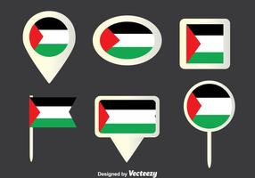 Gaza Strip Collectie Vector