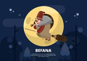 Befana Illustration