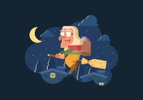 Gratis Befana Illustration