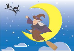 Befana Cartoon