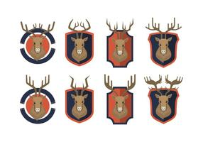 Free Caribou Vector Collection
