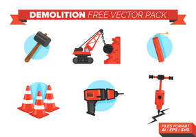 Demolición Libre Vector Pack