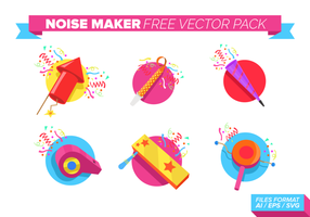 Noise Maker Free Vector Pack