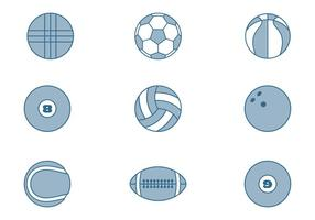 Sport Ball Collections vector