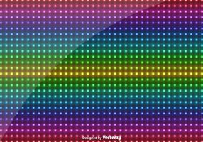Vector Multicolored Led Lights Background