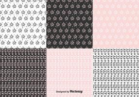 Hand Drawn Pattern Vector Set