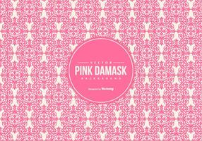 Beautiful Pink Damask Background