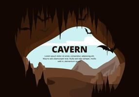 Illustration de la caverne