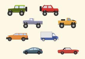 Plana bilvektorer