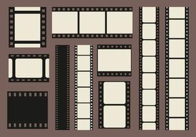 Photo Edges Filmstrip Vector