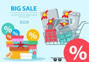 Big Sale Banner vector