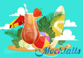 Summer Mocktail Party vector