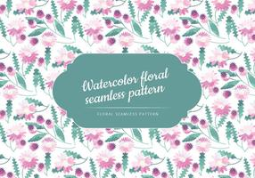 Cute Watercolor Floral Pattern vector
