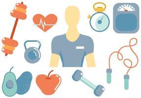 Kostenlose Fitness-Vektoren