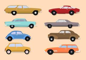 Vectores clásicos de coches clásicos